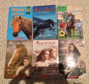 Lot of 6 Horse themed books