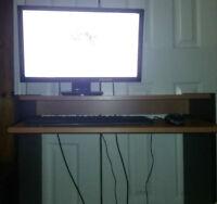 Custom desktop with Asus VE247H Full HD 1080p Monitor