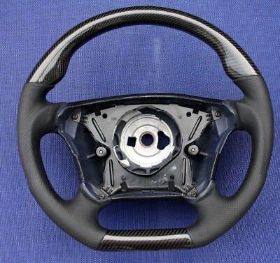DTM Style Lenkrad CARBON - LEDER Mercedes W208 C208 A208 MOPF