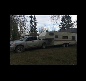 LOOKING for camper rental spot