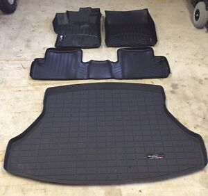 2015 Honda Civic Coupe WeatherTech Mats - with Trunk tray