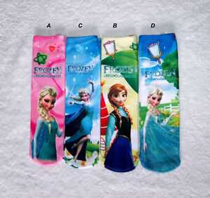 FROZEN, BAS ,SOCKS,ELSA REINE DES NEIGE / SNOW QUEEN & dolls...