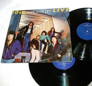 Pop Rock - 10cc Live And Let Live 2x Vinyl 1977 JG1 Eastern Creek Blacktown Area Preview