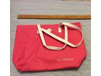 """""""Clarins"""" beach bag"""