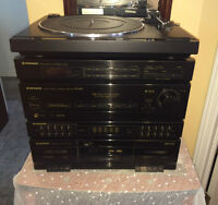 Inexpensive Pioneer System with TurntableRX-1310