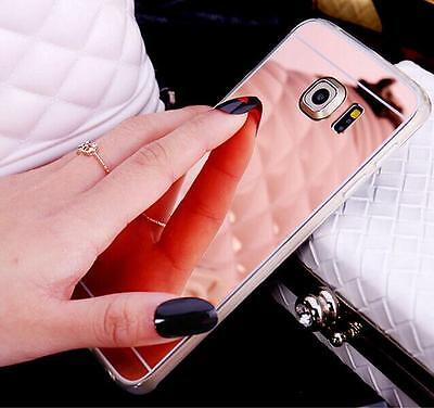 Luxury Bling TPU Soft Mirror Gel Back Accessories Case Cover For Cell Phone