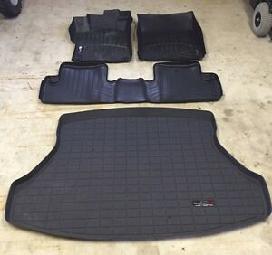 2015 Honda Civic Coup - WeatherTech Mats - with Trunk tray