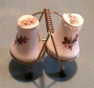 Antique Salt and Pepper Set