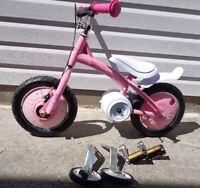 NEW Playskool Glide To Ride 2 In 1 Pink Girls Bike