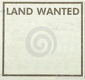 Land Wanted for Modest Build