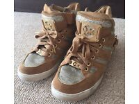 MK Michael Kors trainers sneakers shoes flats size 4