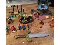 Mike the Knight childrens Toy bundle worth £60+