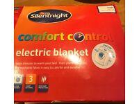 Brand new in box Silentnight single electric blanket