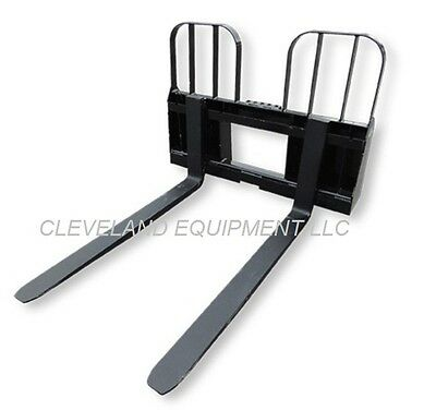 48 Walk Through Pallet Forks Frame Attachment New Holland Skid-steer Loader