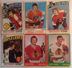 OPC LOT DE 6 CARTES HOCKEY