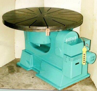 84 Rotab Precision Rotary Table No. 84-5 Power Tilt T-slot 2554