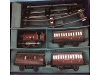Antique Hornby O gauge train set better than money in the bank