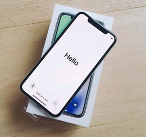 Brand New Silver iPhone X 256GB W/Warranty/Reciept + Gucci Case