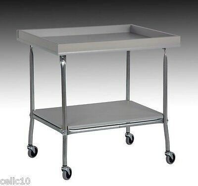 High Quality Steel Cart With Plastic Laminate Top Tray Shelf - Usa Made