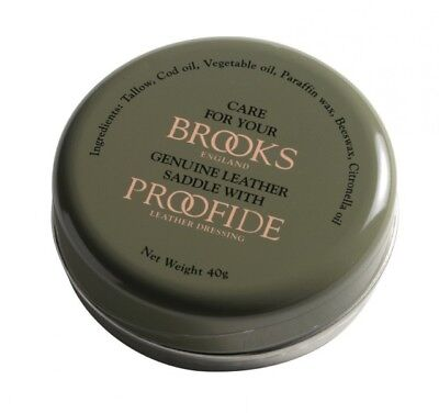 (37,48 €/ 100g) Brooks Proofide Single 40 G Special Grease Leather Saddle Grease