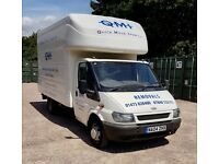 FORD TRANSIT LUTON BOX VAN TAIL LIFT MOT REMOVALS CAMPER EXTRA LONG WHEEL BASE