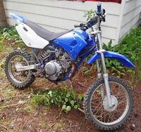 2004 Yamaha TTR 125 (Small Wheel) Dirt Bike for Sale