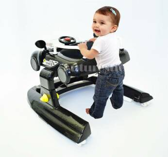 New Musical Cool Racing Car Baby Walker Rocker 4in1 Activity Play Bass Hill Bankstown Area Preview