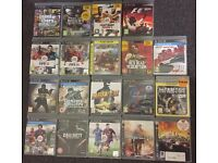 19 PS3 Games Bundle Mint Condition