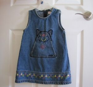 Esprit denim jumper, size 3-5 yo