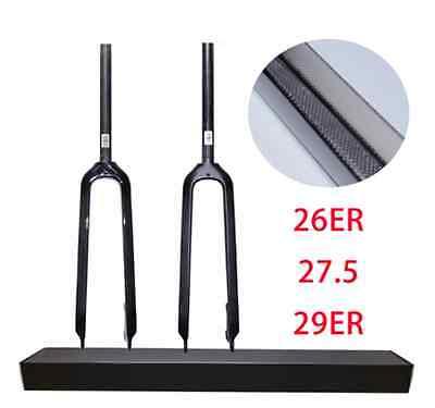 """Carbon Starrgabel 11/8""""  MTB Carbongabel 26"""" 415mm 460 Gramm"""