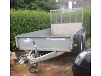 GD105 Mark 3 Ifor Williams Twin Axle 10 x 5 Trailer