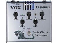 VOX GUITAR COMPRESSOR TRUE BYPASS VALVE DRIVEN EXCELLENT CONDITION