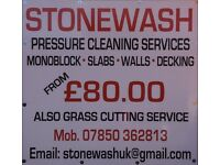 Monoblock\ slabs\walls\graffiti removal\decking\pressure cleaning service