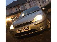 Ford Focus 2003 Petrol 1.6 Silver Cheap Ideal First Car (Not a corsa or Astra Golf Polo)
