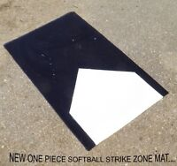Looking for softball/slow pitch one piece home plate.