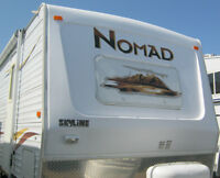 TRAVEL TRAILER,NOMAD,28',MONCTON