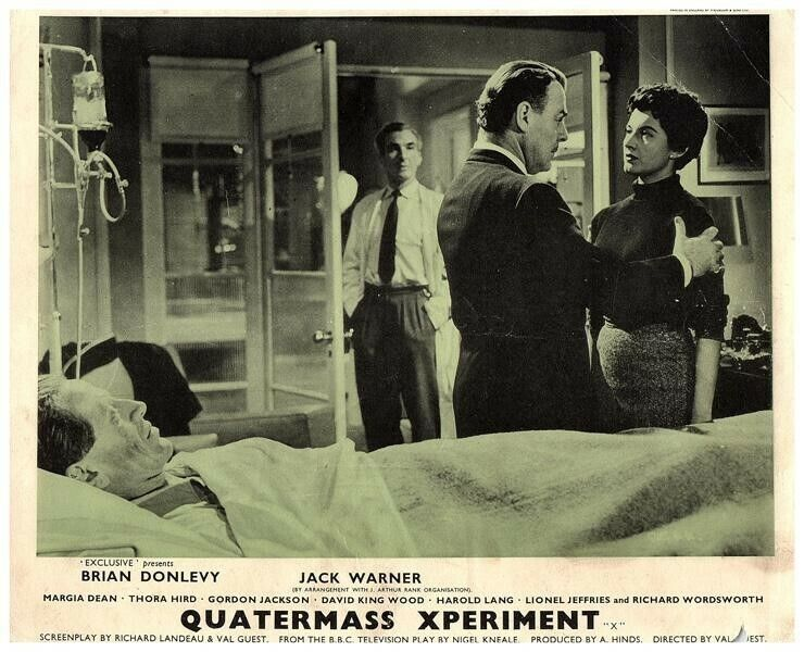The Quatermass Xperiment Original British Lobby Card Hammer Horror 1955 Rare