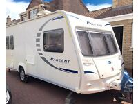 2010 BAILEY PAGEANT PROVENCE SERIES 7 5 berth ONE OWNER FROM NEW COMES WITH AWNING AND MOTORMOVER.