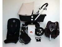 BUGABOO CAMELEON 3rd Generation inc Maxi cosi car seat and adpaters