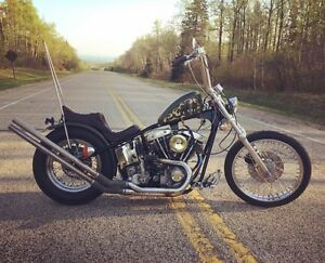 1978 custom built shovelhead  (safetied)