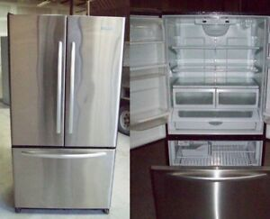 Refrigerator Sainless Steel - French Door - Durham Appliances