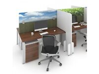 Office Desk Screen Shield Protection Topper Printed