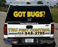 TRU PEST CONTROL INC. 33 + YEARS OF EXPERIENCE..LOCALLY OWNED
