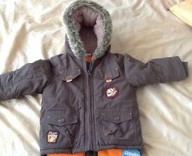 Padded Winter Coat, Disney Tigger, 18-24 Months, BNWT