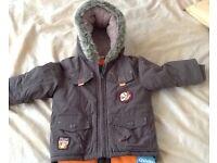 Padded Winter Coat 18-24 Months, BNWT