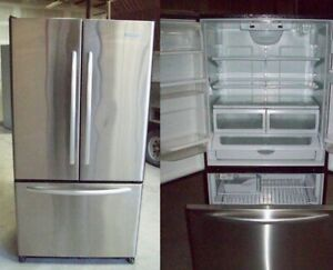Refrigerator French Door Stainless Steel DURHAM APPLIANCES LTD.