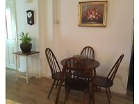Ercol chairs & table