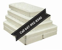 TOP QUALITY -Euro top - Pillow top spring With edge support back