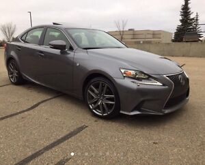 2014 Lexus is250 f-Sport AWD