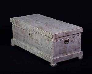 Cute Solid Pine shabby chic coffee table/Storage box,DEL. AVAIL. Oakford Serpentine Area Preview
